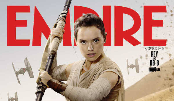 Daisy Ridley Star Wars The Force Awakens Empire Cover