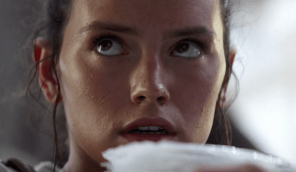 Daisy Ridley Star Wars The Force Awakens TV Spot