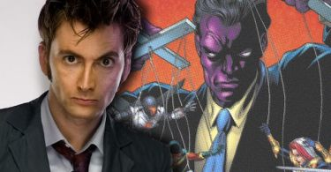 David Tennant Purple Man