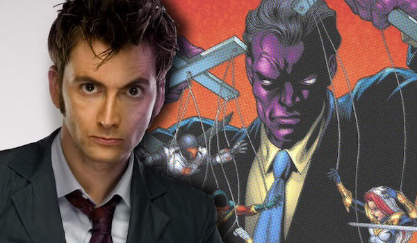 David Tennant Purple Man