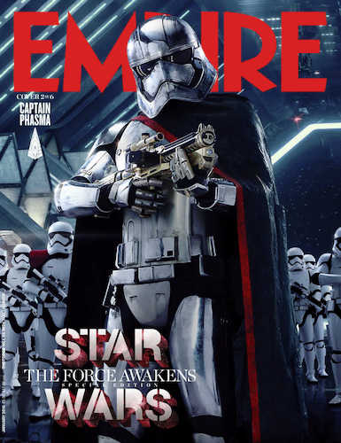 Gwendoline Christie Star Wars The Force Awakens Empire Cover