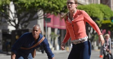 Mehcad Brooks Melissa Benoist Human for a Day Supergirl