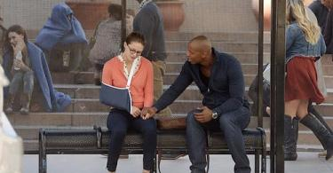 Melissa Benoist Mehcad Brooks Supergirl Human for a Day