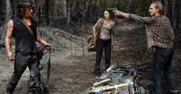 Norman Reedus Christine Evangelista Austin Amelio The Walking Dead Always Accountable