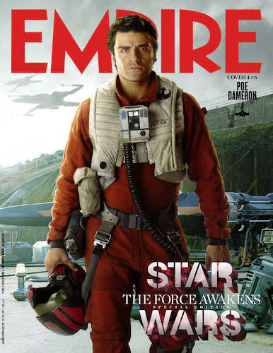 Oscar Isaacs Star Wars The Force Awakens Empire Cover