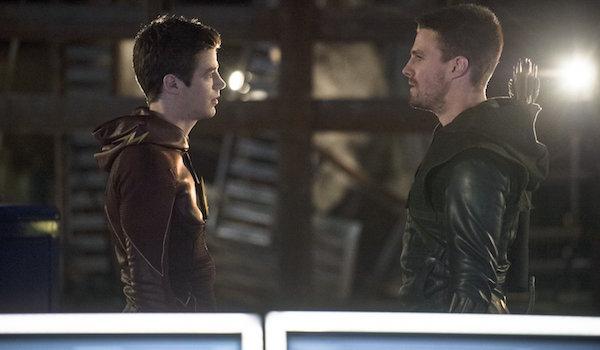 The Flash Arrow 2014 Crossover
