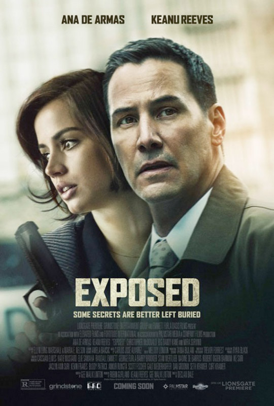 Ana de Armas Keanu Reeves Exposed Poster