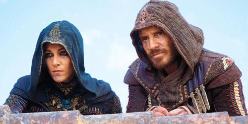 Ariane Labed Michael Fassbender Assassin's Creed