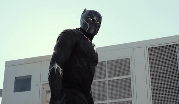 Black Panther Captain America Civil War