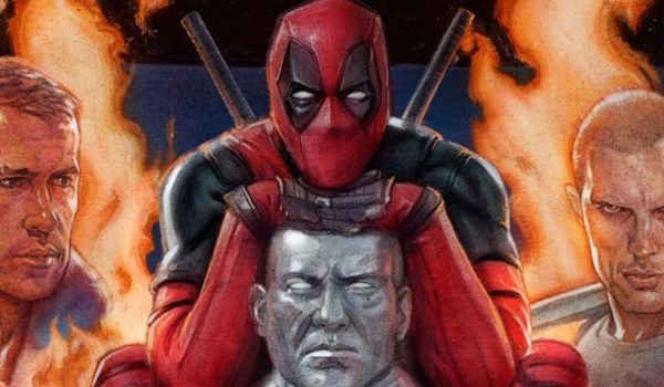 Deadpool IMAX movie poster
