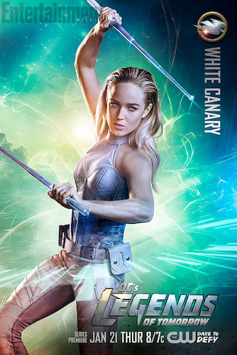 Legends of Tomorrow Poster Caity Lotz