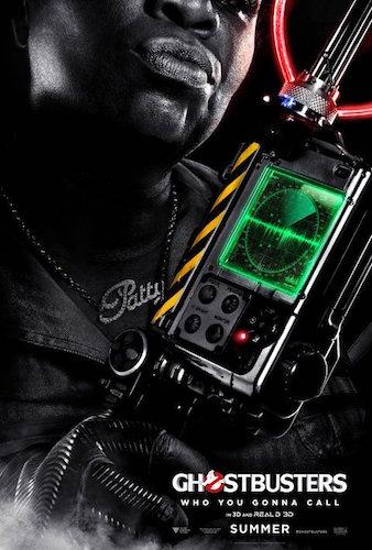 Leslie Jones Ghostbusters Character Poster