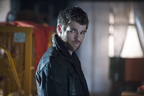 Liam McIntyre The Flash Running to Stand Still