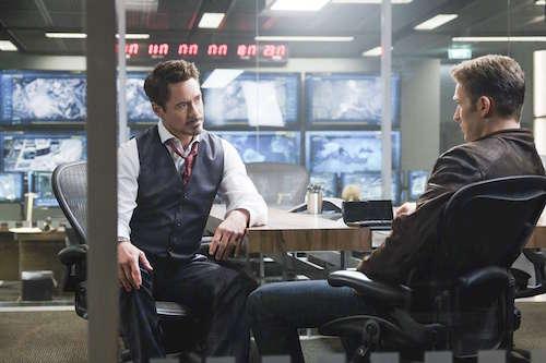 Robert Downey Jr. Chris Evans Captain America: Civil War