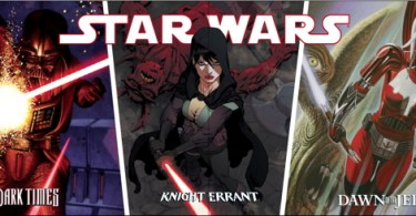 Star Wars Dark Horse triple title cover