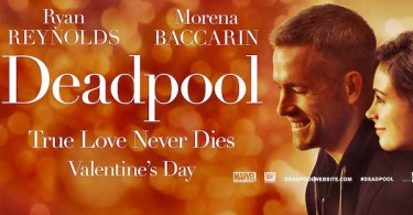 Deadpool Valentines Day movie banner