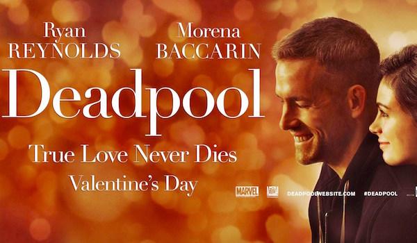 Deadpool Valentines Day movie banner