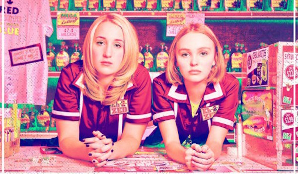 Harley Quinn Smith Lily Rose Depp Yoga Hosers Poster