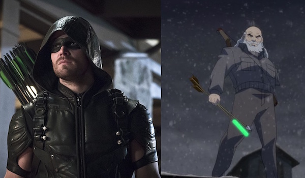 Stephen Amell Oliver Queen Arrow Older