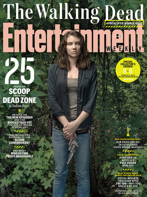 Lauren Cohan The Walking Dead season 6.2