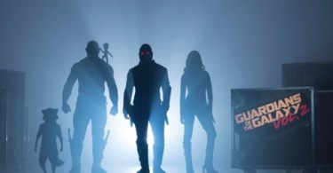 Guardians of the Galaxy 2 cast silhouettes