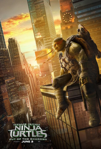 Mikey Teenage Mutant Ninja Turtles 2 Poster