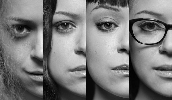 Tatiana Maslany Black and White Orphan Black