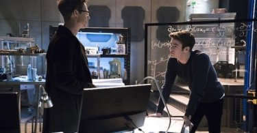 Tom Cavanagh Grant Gustin Fast Lane The Flash