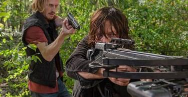 Austin Amelio Norman Reedus The Walking Dead East