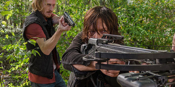 Austin Amelio Norman Reedus The Walking Dead East