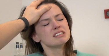 Daisy Ridley Sta Wars The Force Awakens Screen Test