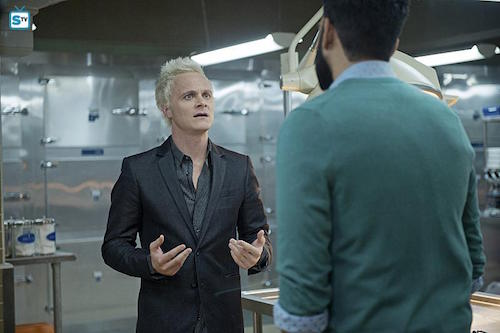 David Anders Rahul Kohli Reflections of What Liv Used To Be iZombie
