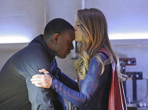 David Harewood Melissa Benoist Better Angels Supergirl