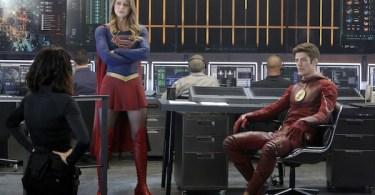 Jenna Dewan-Tatum Melissa Benoist Grant Gustin World's Finest Supergirl
