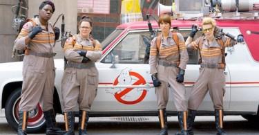 Leslie Jones Kristen Wiig Melissa McCarthy Kate McKinnon Ghostbusters