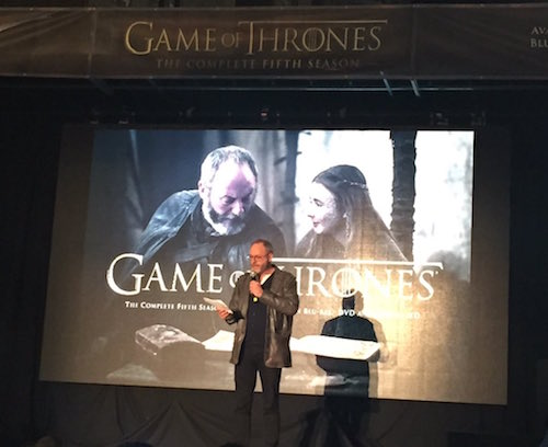 Liam Cunningham Game of Thrones NYC Event