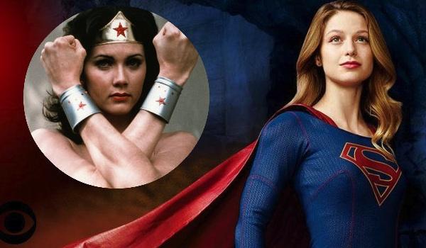 Lynda Carter Melissa Benoist Supergirl