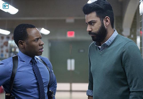 Malcolm Goodwin Rahul Kohli Reflections of What Liv Used To Be iZombie