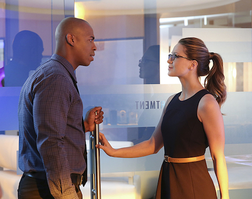 Melissa Benoist Mehcad Brooks Better Angels Supergirl
