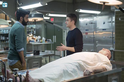 Rahul Kohli Robert Buckley Reflections of What Liv Used To Be iZombie