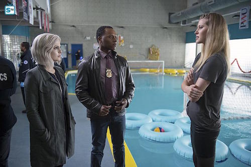 Rose McIver Malcolm Goodwin Sarah Gray Reflections of What Liv Used To Be iZombie