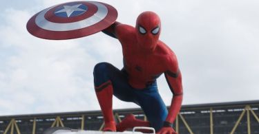 Tom Holland Spider-Man Captain America: Civil War