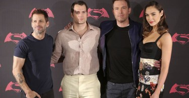 Zack Snyder Henry Cavill Ben Affleck Gal Gadot Batman v Superman Mexico Premiere
