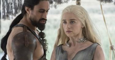 Andrei Claude Emilia Clarke Game of Thrones The Red Woman