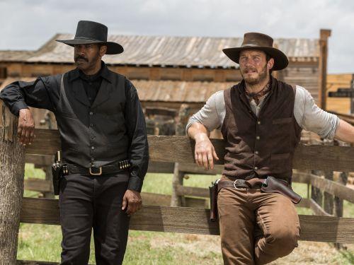 Denzel Washington Chris Pratt The Magnificent Seven