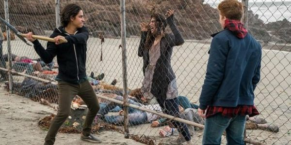 Lorenzo James Henrie Jake Austin Walker Fear the Walking Dead We All Fall Down