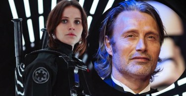 Mads Mikkelsen Felicity Jones Star Wars