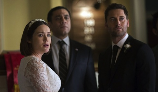 Megan Boone Harry Lennix Ryan Eggold The Blacklist