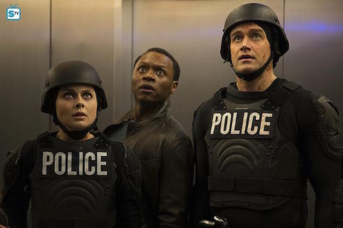 Rose McIver Malcolm Goodwin Robert Buckley Salivation Army