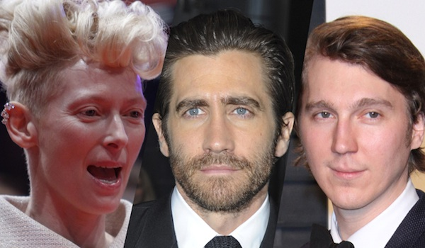 Tilda Swinton Jake Gyllenhaal Paul Dano